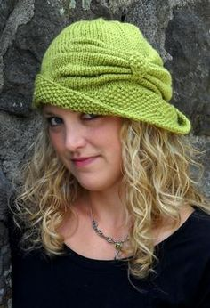 Have made this hat several times. It's pretty simple and looks great on just about everyone! Free pattern @ Ravelry.