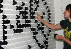 LONDON DESIGN FESTIVAL 2010 - Interactive Pixel Wall - Therese Morch - Core77