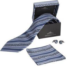 Kia Kaha Mens Boxed Navy Tie Set Pocket Handkerchief, Tie Matching, Maori Designs, Tie Set, Print Logo, New Zealand, Navy, Gifts, Branding