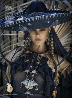 Olga Sherer   Marcin Tyszka #photography Elle France September 2012