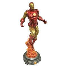 BLOG DOS BRINQUEDOS: Marvel Gallery Iron Man