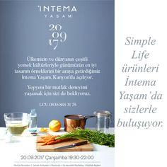Simple Life ürünleri İntema Yaşam'da sizlerle buluşuyor.