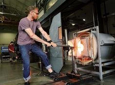 See our Hot Shop team in action this Saturday and Sunday at our Spring Factory Sale!