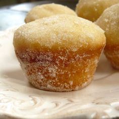 Donut Muffins taste exactly like donuts!