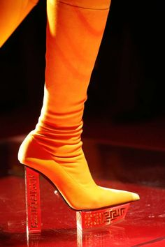 Versace Shoes At Milan Fashion Week Fall Winter 20152016