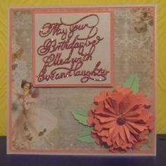 Made by Jean-Marie Penny #tatteredlace #birthdaycard #cardmaking