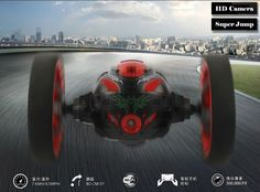 WIFI Bounce Car with 2.0mp camera PEG SJ88 4CH 2.4GHz Jump Sumo RC Cars with Flexible Wheels Remote Control FSWB