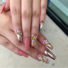 81 Mejores Imágenes De Nails Efecto Espejo Pretty Nails Acrylic