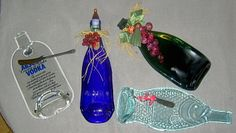 Slumping Wine Bottles in a Kiln | Sag or Slump with our fabulous molds - make these as presents or to ...