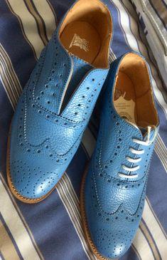 Blue Brogues, Men Dress, Dress Shoes, Cole Haan, Oxford Shoes, Lace Up, Fashion, Moda, Fashion Styles