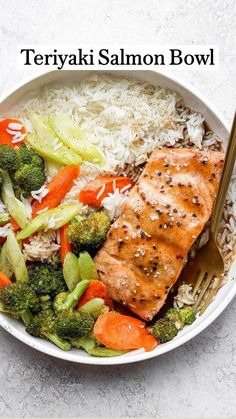 Healthy Food Alternatives, Healthy Recipes, Salmon Recipes, Fish Recipes, Teriyaki Salmon, Salmon Dinner, Nutrition, Whole 30 Recipes, Quick Meals
