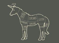 unicorn anatomy