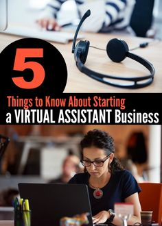 5 Things You Should Know About Starting a Virtual Assistant Business - Money Saving Mom® Business Help, Business Money, Starting A Business, Business Ideas, Working On Me, Virtual Assistant Services, Money Saving Mom, Business Articles, Earn Money From Home