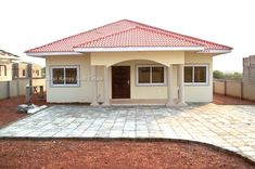3 Bedroom Bungalow House Plans Awesome Best Roofing Styles In Kenya American Hwy – simple country house plans House Plans Uk, Round House Plans, Modern House Plans, Country House Plans, Small House Plans, Family House Plans, Country Houses, Bungalow Haus Design, Modern Bungalow House