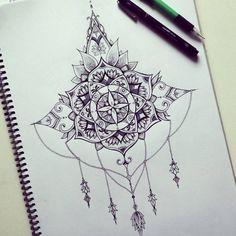 "Check out this @Behance project: ""Mandala / Back tattoo piece"" https://www.behance.net/gallery/32108893/Mandala-Back-tattoo-piece"