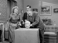 "According to Lucille Ball, nothing on the show was ever ad-libbed. ""We never ad-libbed. We never ad-libbed on the set when we were putting it together. It was there."" 