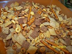 Connor's Cooking: Healthy Snack Mix