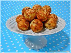 Herzhafte Käse-Speck-Bällchen