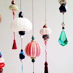 Ideas For Baby Diy Decorations Tassel Garland Mobiles, Diy And Crafts, Arts And Crafts, Turbulence Deco, Diy Bebe, Hanging Mobile, Shell Art, Shell Crafts, Decoration