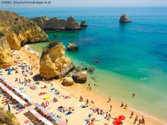 Ana Dona Beach - Lagos, Algarve - Portugal - http://destinations-for-travelers.blogspot.com.br/2013/05/praia-da-dona-ana-lagos-algarve-portugal.html #lagos #portugal #algarve