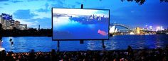 See a Movie on Sydney Harbour   St. George Open Air (Sydney, Australia)  With stunning views of the famous Sydney Opera House and Harbour Bridge in the backdrop
