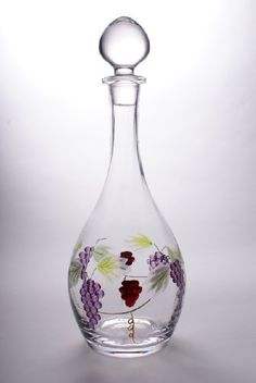 13 Bacchus Crystal 3 cup Wine Decanter ** Want to know more, click on the image.