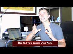 Best Video Cameras for YouTube? by James Wedmore jameswedmore.com.