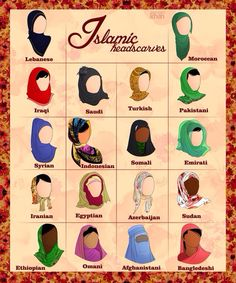 Hijabs, love this.