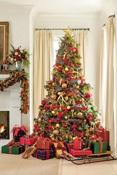 fresh christmas decorating ideas pile on the plaid plaid christmas christmas 2017 xmas - 2017 Christmas Decorating Ideas