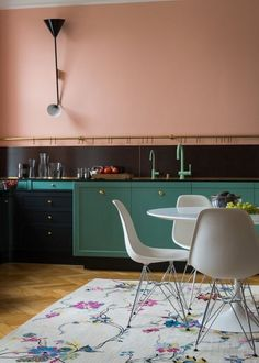 Unusual Colors in the Kitchen