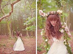'Larissa' wedding gown by Claire Pettibone shot by Sarah Gowler