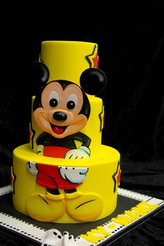 Mickey cake!