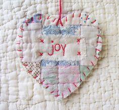 Vintage Quilt Ornament