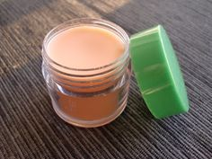 Homemade lip balm.  Can use up the little bits of lipstick left in tubes for a little color.