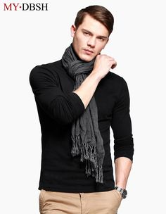 Special Sales High Quality Men's Long-sleeve T-shirt Casual