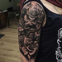 Las 22 Mejores Imágenes De Tatuajes De Flores Para Hombres En 2019