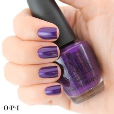We just fa-la-la-la-love this deep royal purple @opi_gwen_icarolaboutyou! | opi_products's photo on Instagram