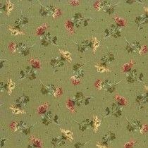 Sophia Green Fabric by the yard