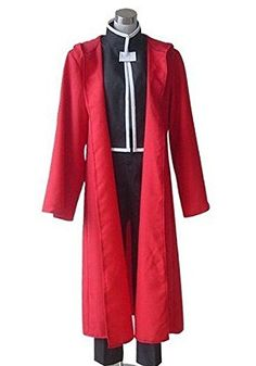 CosEnter Fullmetal Alchemist Edward Elric Cosplay Costume ** Learn more by visiting the image link.