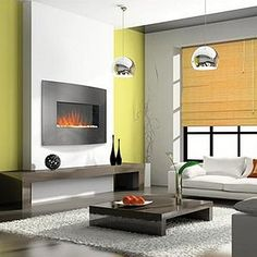 """Napoleon 32"""" Curved Electric Fireplace"""