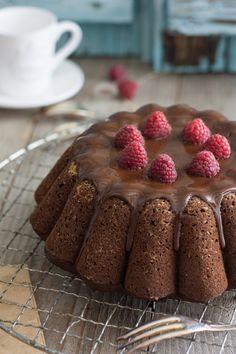 Gâteau cacao et courgette vegan