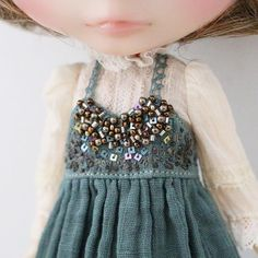 WEBSTA @ hanon_satomi - blouse and dyeing Bijou dress for custom blytheI'm going…