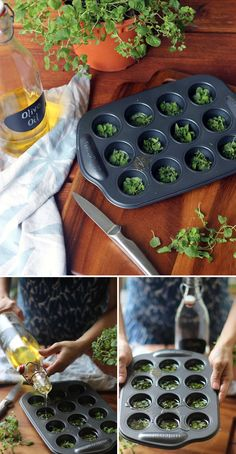 """Considering it has the world """"muffin"""" in the name, a muffin tin is a pretty specific piece of kitchen equipment. However, finding new purposes for old things is a great strategy for saving money and getting organized — and something many DIY-ers are quite skilled at! Not only does repurposing, or """"upcycling,"""" keep old itemsout... View Article"""