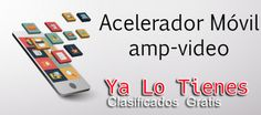 Acelerador AMP paginas móvil etiqueta amp-video