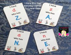 Conversations in Literacy: Squats, 2 FREEBIEs & ABCs