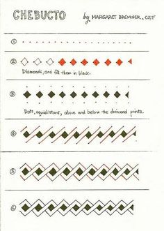 Zentangle pattern Chebucto by Margaret Bremner, Certified Zentangle Teacher CZT by kristin.small