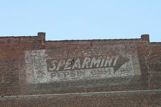 Spearmint Pepsin Gum ghost sign in Cairo, Illinois
