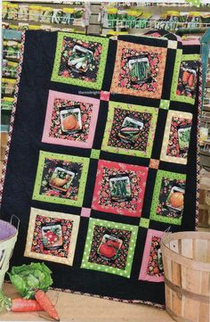 Sewing Seeds Quilt Pattern Pieced HH