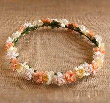 Coronas de flores - Corona Mandarina