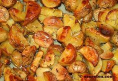 Één van mijn favoriete gerechten van Nigella Lawson is Italiaanse aardappeltjes uit de oven. Ik vond deze in haar nieuwste boek Nigellissima. Het recept is erg eenvoudig, maar het smaakt alsof je e…